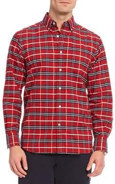 Daniel Cremieux Tropez Plaid Oxford Long-Sleeve Woven Shirt