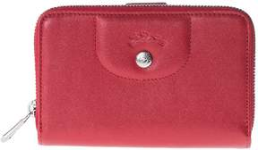 Longchamp Compact Zip Around Wallet - 045CHERRY - STYLE