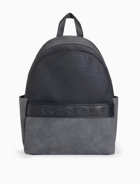 Calvin Klein pebble medium campus backpack