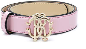 Roberto Cavalli logo-buckle belt