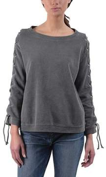 RtA Harper Lace-up Sweatshirt (Women's)