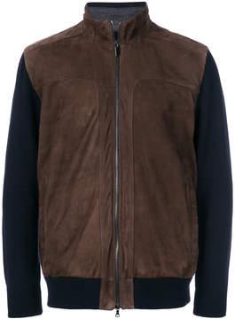 Paul & Shark panelled long sleeved jacket