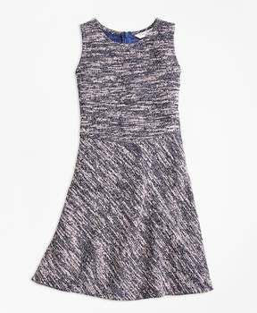 Brooks Brothers Cotton Stretch Boucle Dress
