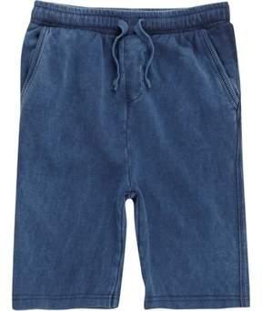 River Island Boys blue washed jersey shorts