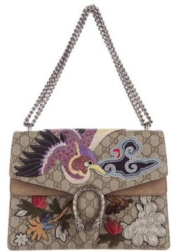 Gucci 2016 Embroidered Dionysus Bag