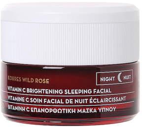 Korres Wild Rose Advanced Brightening Sleeping Facial.