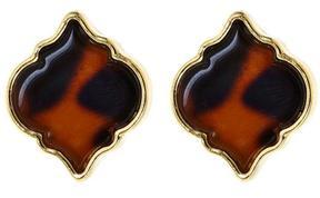 Fornash Tortoise Spade Earrings