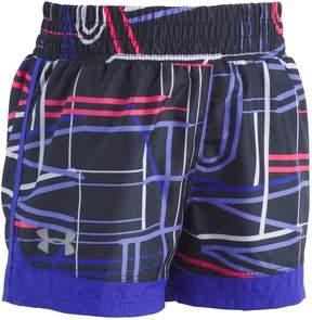 Under Armour Girls 4-6x Stretch Running Shorts