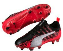 Puma EvoPOWER Vigor 1 Graphic FG JR Soccer Cleats