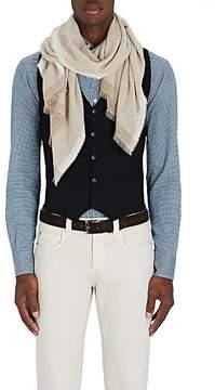 Barneys New York Men's Mélange Cashmere-Silk Scarf