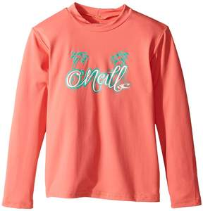 O Skins Long Sleeve Rash Tee (Infant/Toddler/Little Kids)