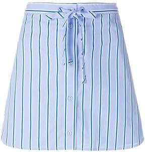 Victoria Beckham Victoria striped mini skirt