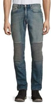 Belstaff Blackrod Straight-Fit Faded Moto Jeans