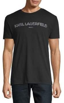 Karl Lagerfeld Paris Classic Logo Tee