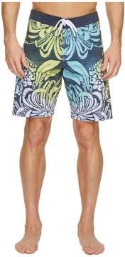 VISSLA Bloom Bay Washed Four-Way Stretch Boardshorts 20 Men's Swimwear