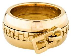 Boucheron 18K Zipper Pull Band