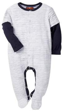 7 For All Mankind Twofer Footie (Baby Boys 0-9M)