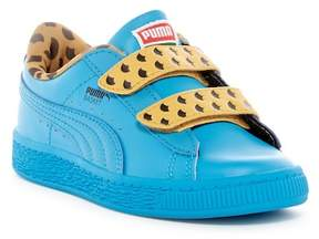 PUMA Sesame Street Basket Cookie Monster Sneaker (Little Kid)