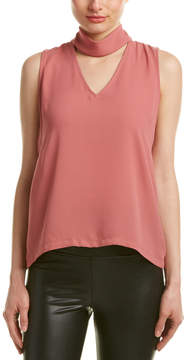 Eight Sixty Mock Neck Top