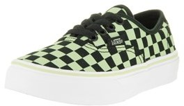 Vans Kids Authentic (glow Check) Skate Shoe.