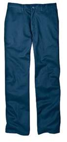Dickies Men's Relaxed Fit Cotton Flat Front Pant 34 Inseam.
