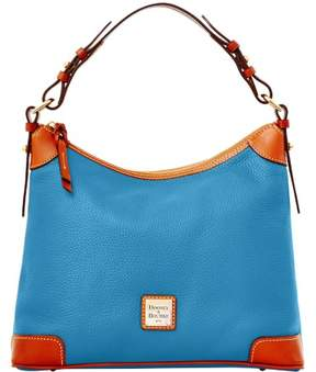 Dooney & Bourke Pebble Grain Hobo Shoulder Bag - AZURE - STYLE