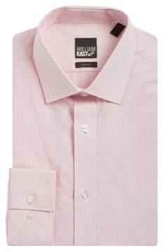 William Rast Slim Fit Striped Dress Shirt