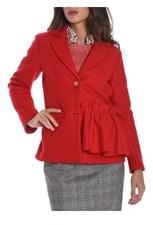 Altea Women's Red Wool Blazer.