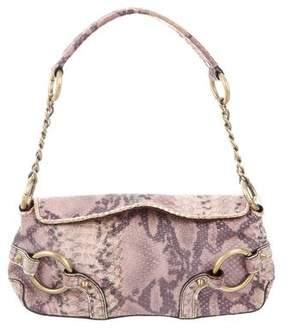 Adrienne Vittadini Embossed Shoulder Bag