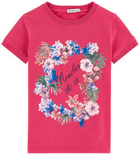 Moncler T-shirt with a print - Maglia