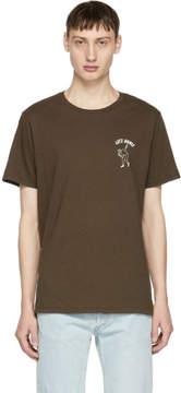Rag & Bone Brown Lets Dance T-Shirt