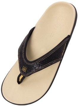 Spenco Women's Yumi Snake Flip Flop 8128909