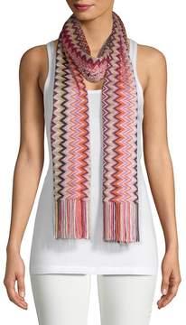 Missoni Women's Chevron Knit Scarf