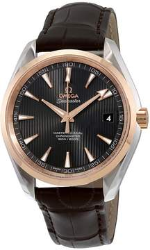 Omega Seamaster Aqua Terra Teak Grey Dial Automatic Men's Watch