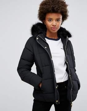 Brave Soul Short Zip Padded Coat
