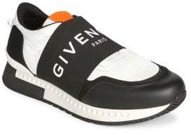 Givenchy Runner Elastic Logo Sneakers
