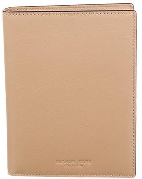Michael Kors Brown Leather Wallet - BROWN - STYLE