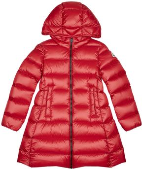 Moncler Suyen Hooded Longline Coat