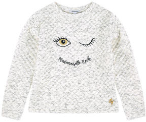 3 Pommes Embroidered sweatshirt