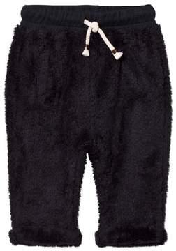 Emile et Ida Navy Fuzzy Pants