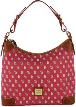Dooney & Bourke St. Louis Cardinals Hobo Bag - RED - STYLE