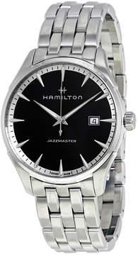 Hamilton Jazzmaster Black Dial Men's Stainless Steel Watch