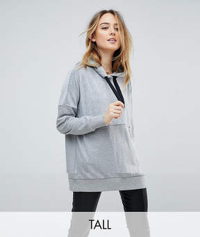 Noisy May Tall Oversized Long Hoodie Sweater