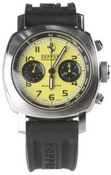 Panerai Ferrari Granturismo Chronograph FER00011 Stainless Steel & Leather Automatic 45mm Men