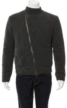 Balenciaga Quilted Zip-Front Jacket