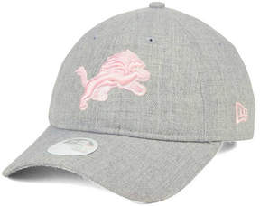 New Era Women's Detroit Lions Custom Pink Pop 9TWENTY Cap