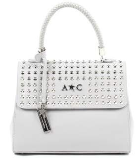 Tommy Hilfiger Andrew Charles By Andy Andrew Charles Womens Handbag Light Grey Brooklyn