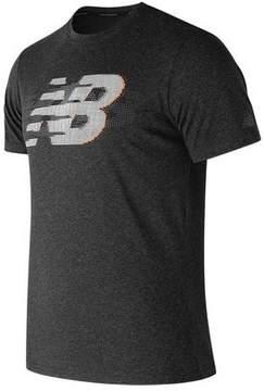 New Balance Men's MT81082 Heather Tech Short Sleeve Shirt
