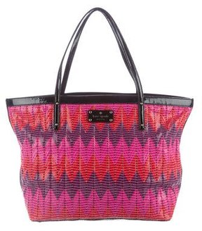 Kate Spade Beverly Breeze-Small Coal Tote - PINK - STYLE