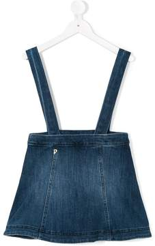 Dondup Kids dungaree denim skirt